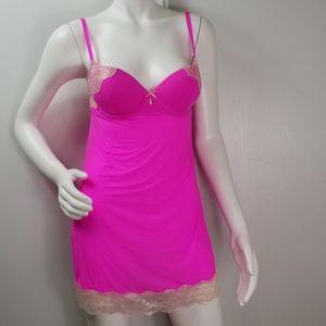 Victoria's Secret Pink Stretch Teddy Sz 34B  2265